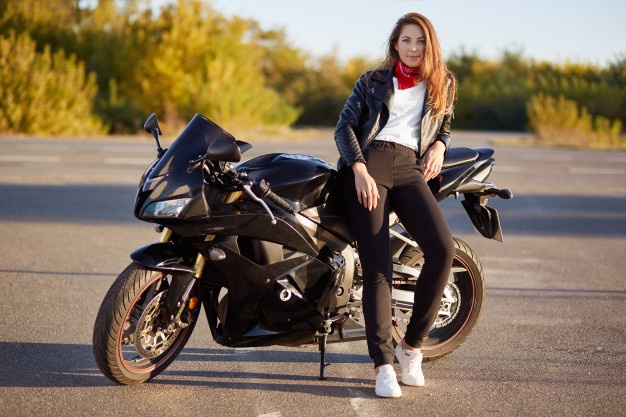 Motorcycling outfit